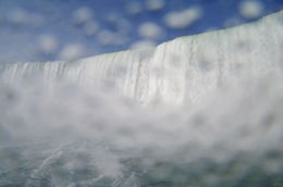 Horseshoe Falls up close from the Lady of The Mist , Kris L - September 2014