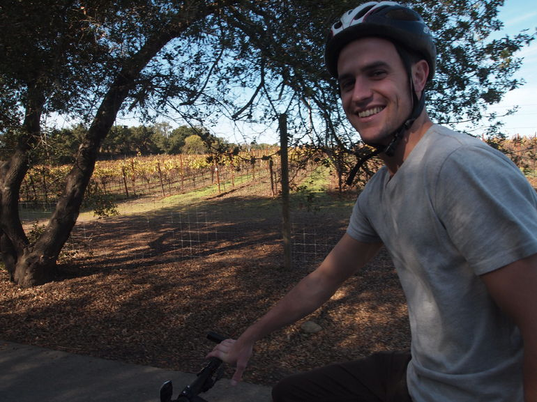 Biking around Napa - San Francisco