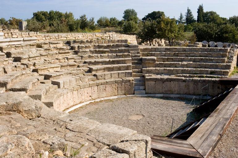 Roman amphitheatre, Troy - Istanbul