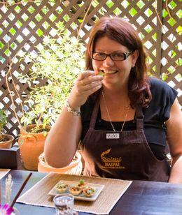 Sampling my food - August 2009