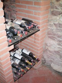 There was a small selection of very old wines. - April 2008