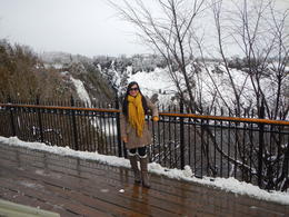 Montmorency Falls , Sheila Godwin - December 2016