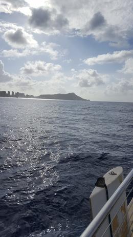 Diamond Head looks best from the sea , RICHARD W - April 2017