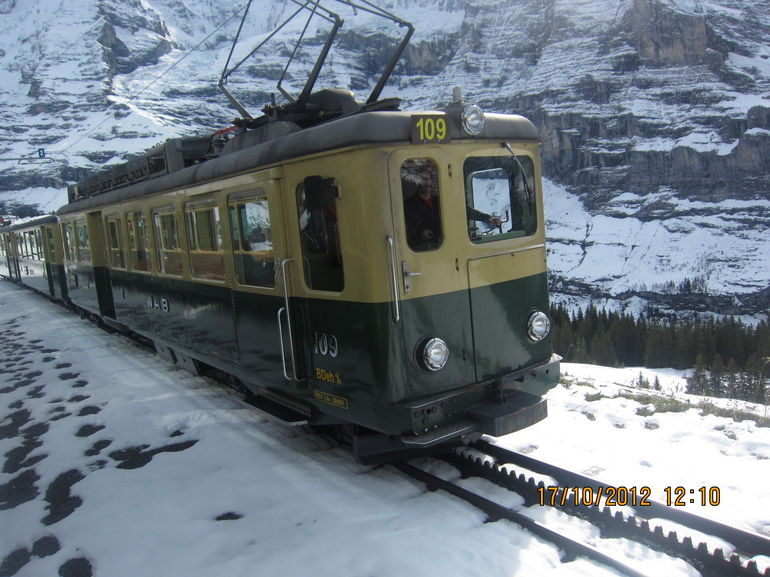 A Cogwheel Train - Lucerne