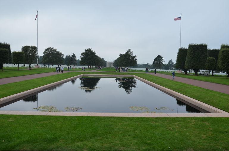 American Cemetery above Omaha beach - Bayeux