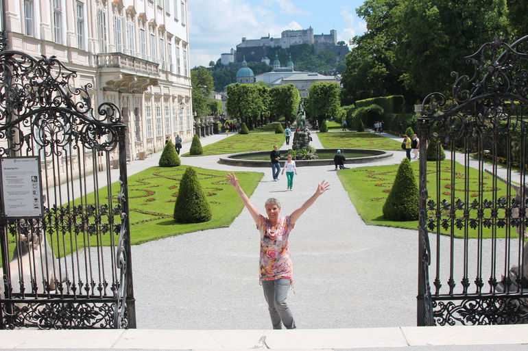Bea voelt zich hier Maria - Salzburg