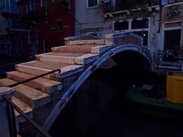 The only bridge in Venice without any sides or railings. , jfariello - September 2015