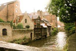 A beautiful little side street in Bruges. , Natasha B - July 2014
