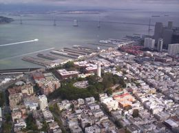 Bay Bridge in the background - June 2008