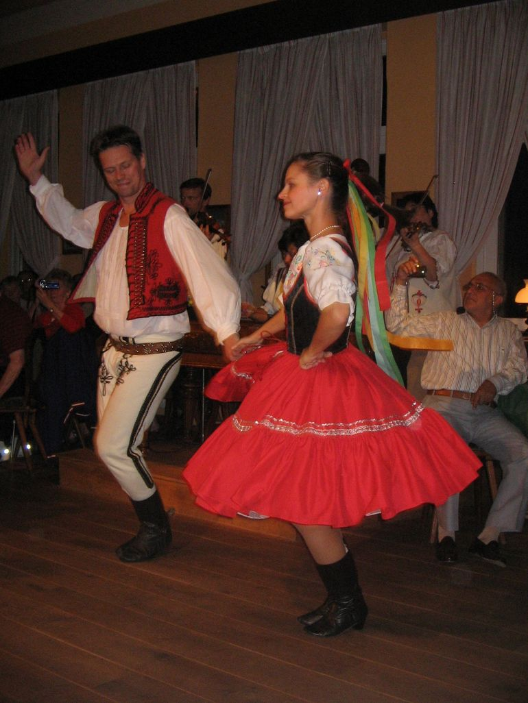 Czech dancers - Prague