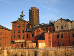 Distillery District in Toronto - November 2011