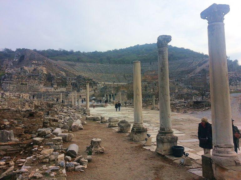 Ephesus Road in to Theatre - Izmir