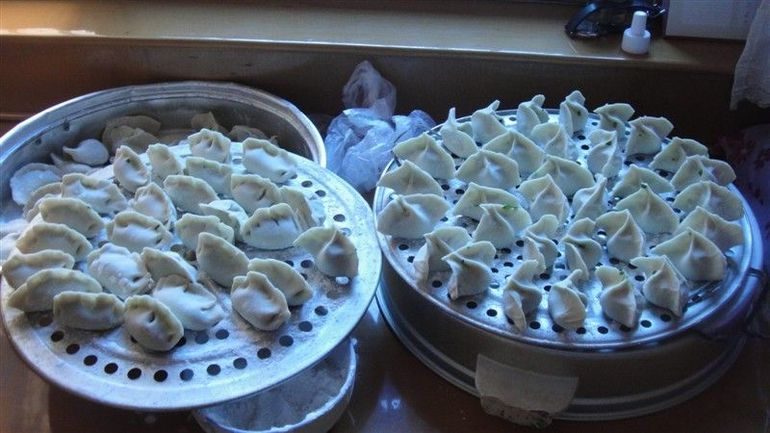 Finished dumplings - Xian