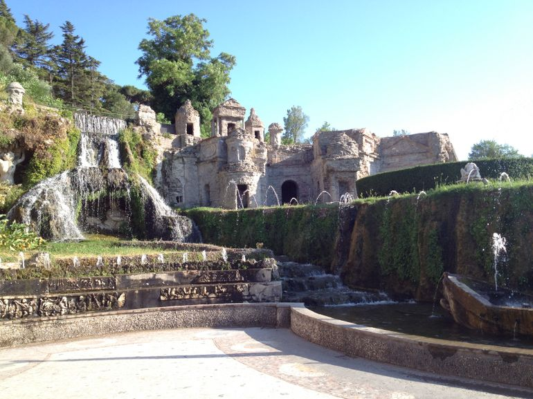 Fountains at Villa d'Este - Rome