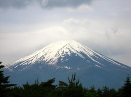 The day was a little overcast, but Fuji was pretty clear., David F - June 2009