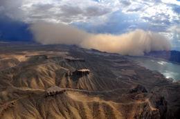 Crazy dust storm - September 2012