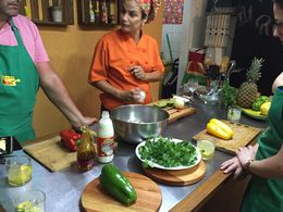 Chef Simone showing how its done Brazilian style! , Ratherboard - April 2016