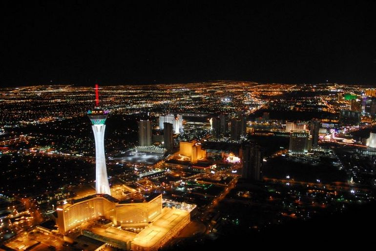 Las Vegas Night Helicopter Flight - Las Vegas