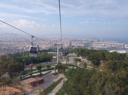 This is the parc zone on the hill to the south-west of Barcelona. The funicular was grossly overpriced, even with the discount of Barcelona Card (2 euros). However it might be worth taking it on the ... , Andrey Y - June 2008