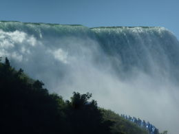 Niagara Falls from the Maid of the Mist , sha - September 2013