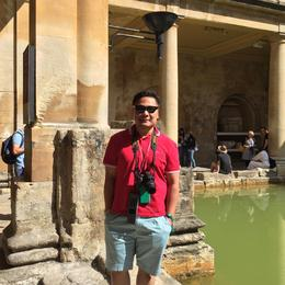 Finally here in the City of Bath! , Rommel Lapuz - September 2016