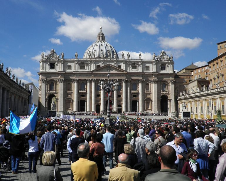 St. Peters on Palm Sunday - Rome