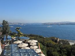 View of the Bosporus looking northeast from Topkapi Palace. , jwil43 - October 2013