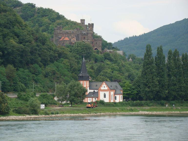 Along the Rhein. - Rhine River
