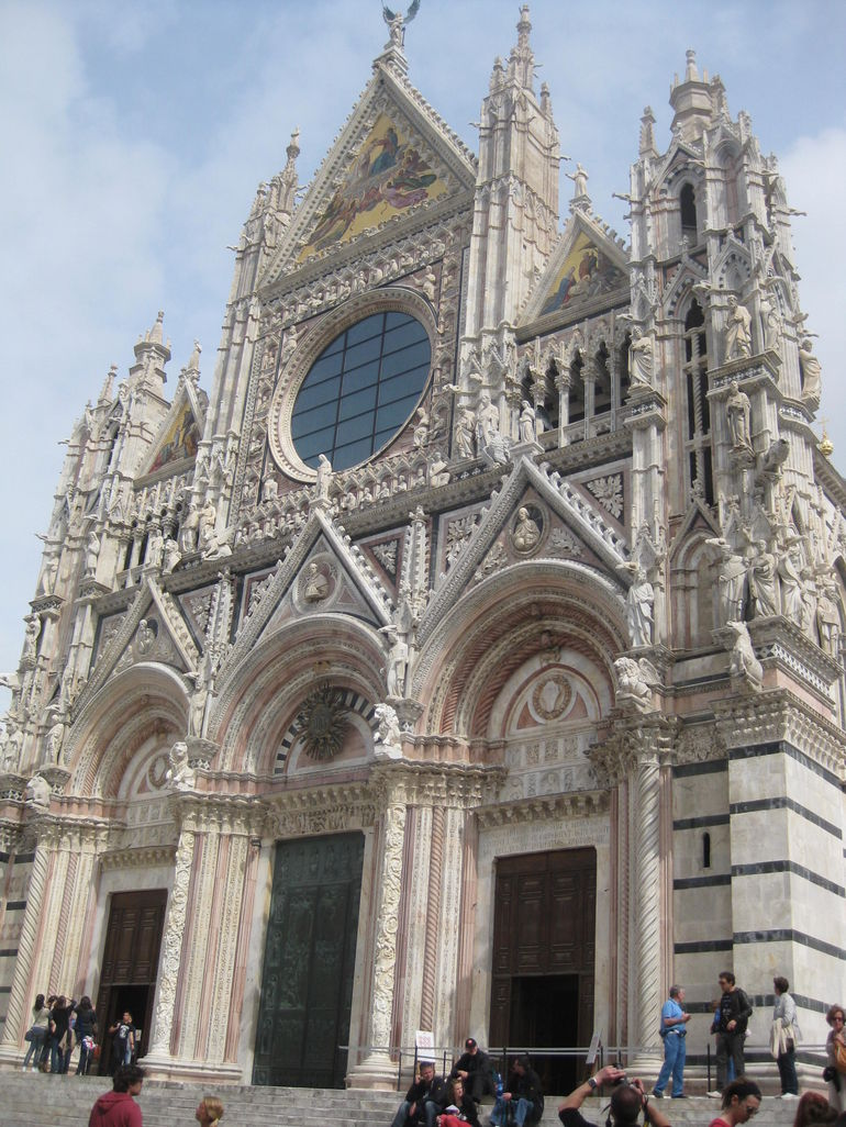 baptistry in Siena - Florence