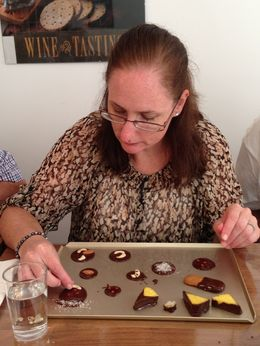 Playing with chocolate! , Lee M - September 2013