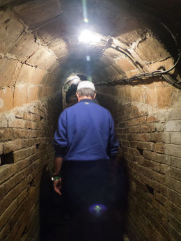 Our tour was delayed somewhat because the previous group had an issue with one member suffering from claustrophobia - if this is an issue, be sure to advise the Codorniu tourguide so you can go on ... , David P - November 2012