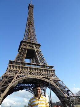 Eiffel Tower View, Mahesh Mane - April 2010