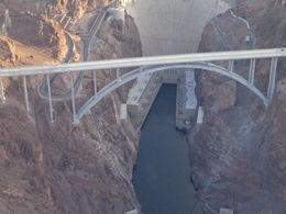 Flying over Hoover Dam. , Linda I - February 2014