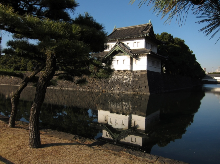 Imperial Palace Moat - Tokyo