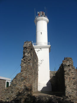 Lighthouse in Colonia - definitely recommend climbing up!, Bandit - June 2012
