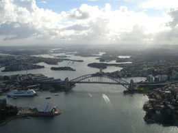 Sydney, Down Under--- from Up and Above !!! , RAJEEV P - June 2013