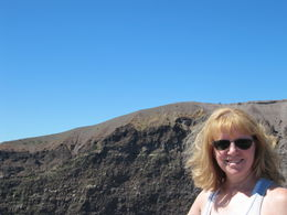 On the Rim of Mt Vesuvius! , Lori H - July 2011