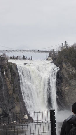 View of Montmorency Falls , Evonne M P - April 2012
