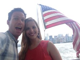 On the NYC Liberty Cruise! - June 2013
