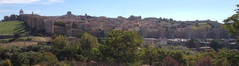 Panoramic of Avila - Madrid