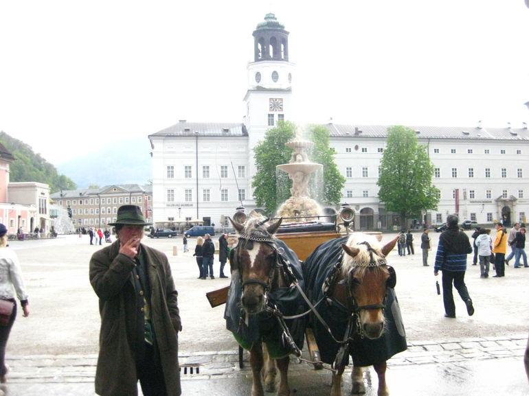 Salzburg city - Vienna
