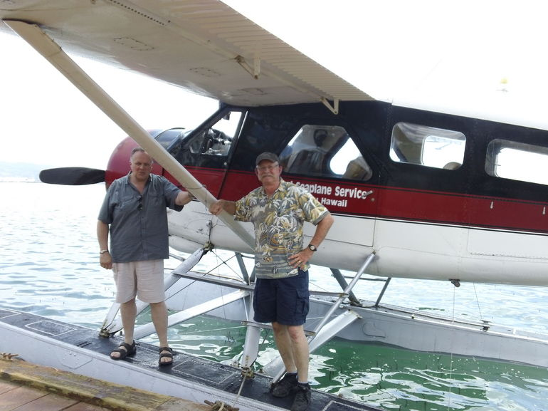 Seaplane flight - Oahu