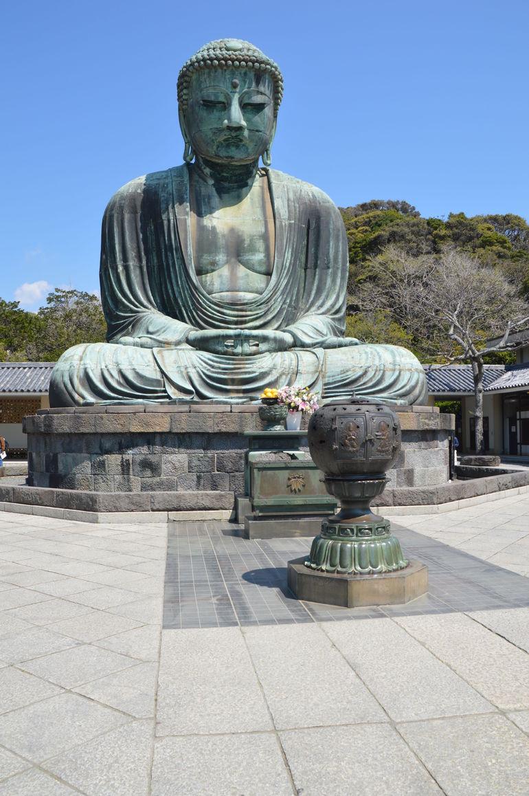 The Great Buddha at Kamakura - Tokyo
