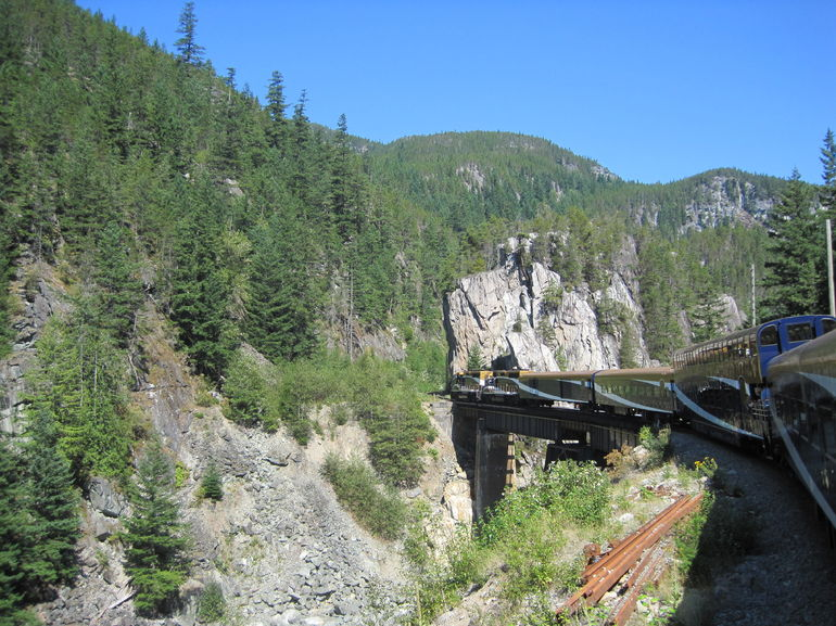 The Rocky Mountaineer - Vancouver