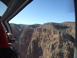 Taken coming up over the West Rim from inside the Grand Canyon , Nana - November 2012