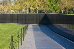 The Vietnam Veterans Memorial in Washington D.C. - May 2011