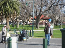 This lovely park is the first glimpse of Williamstown., Vanessa G - July 2008