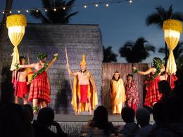 The royal court presentation, before the luau. , Nicole C - November 2016