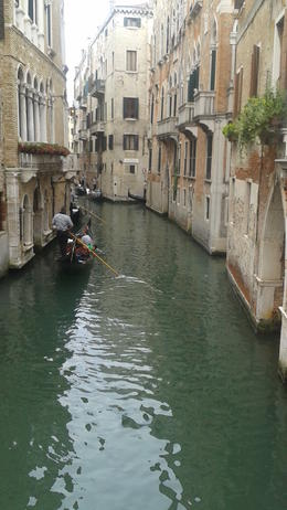 One of the waterways on our gondola ride. , Myriam B - March 2017