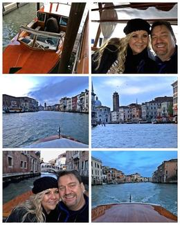 Transfer from Venice Airport to Hotel , Tamerella - December 2017
